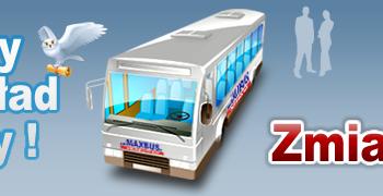 Zmiana rozkładu jazdy od 1.12.2014